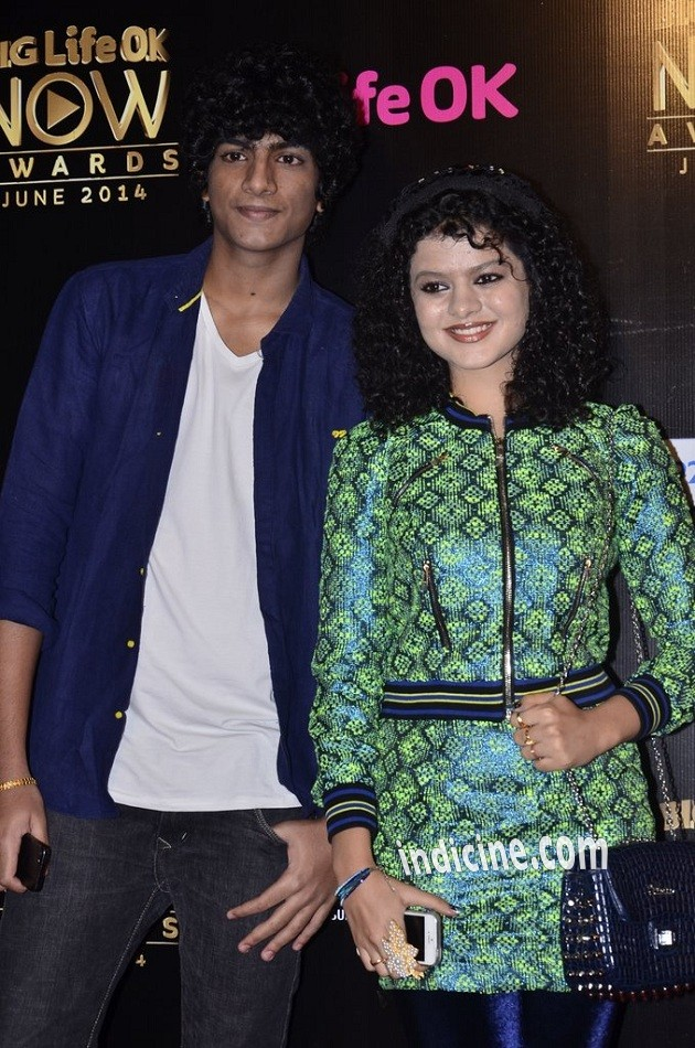Palash Muchhal with Palak Muchhal