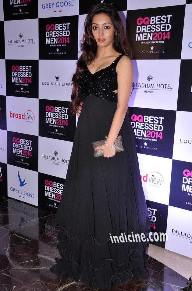 Pooja Salvi at GQ Best Dressed Men 2014 awards