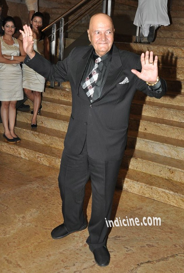 Prem Chopra at Dilip Kumar's autobiography launch red carpet
