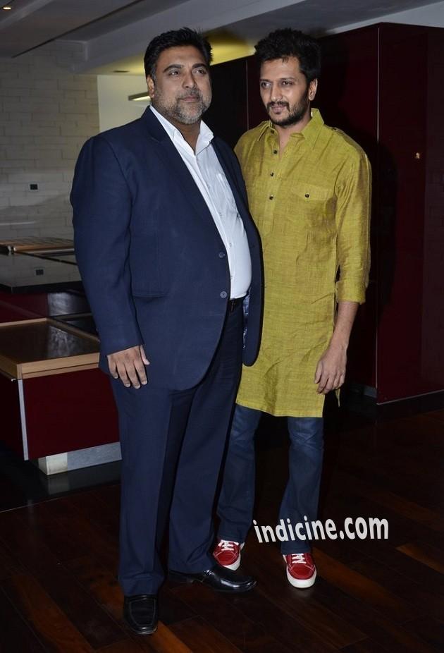 Ram Kapoor with Ritesh Deshmukh