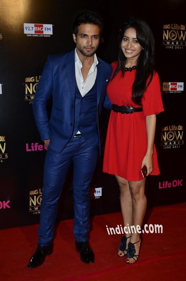 Rithvik Dhanjani with Asha Negi