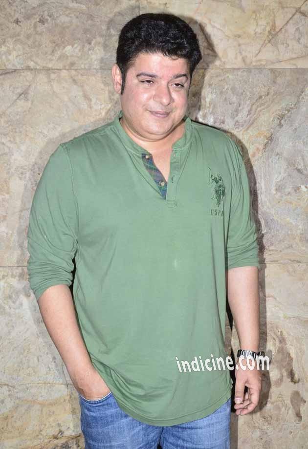 Sajid Khan at Humshakals special screening