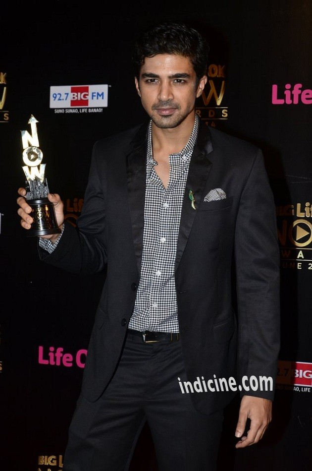 Saqib Saleem at Big Life OK Now Awards