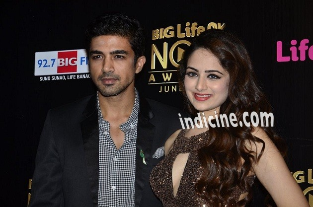 Saqib Saleem with Zoya Afroz