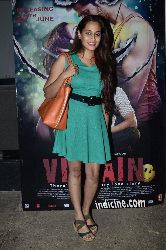 Shweta Pandit at special screening of Ek Villain at Sunny Super Sound