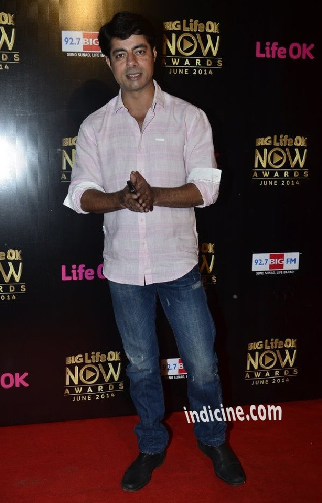 Sushant Singh at Big Life OK Now Awards