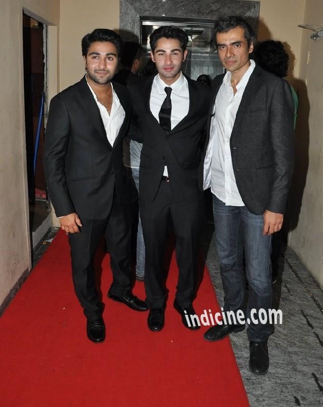 Aadar Jai, Armaan Jain and Imtiaz Ali