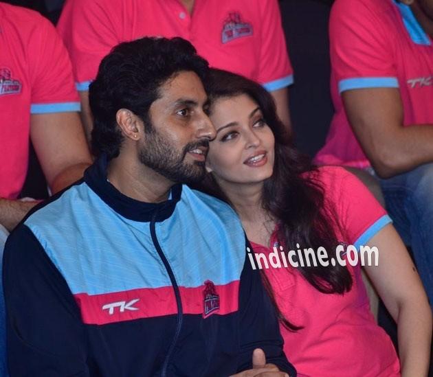 Abhishek Bachchan with wife Aishwarya Rai Bachchan
