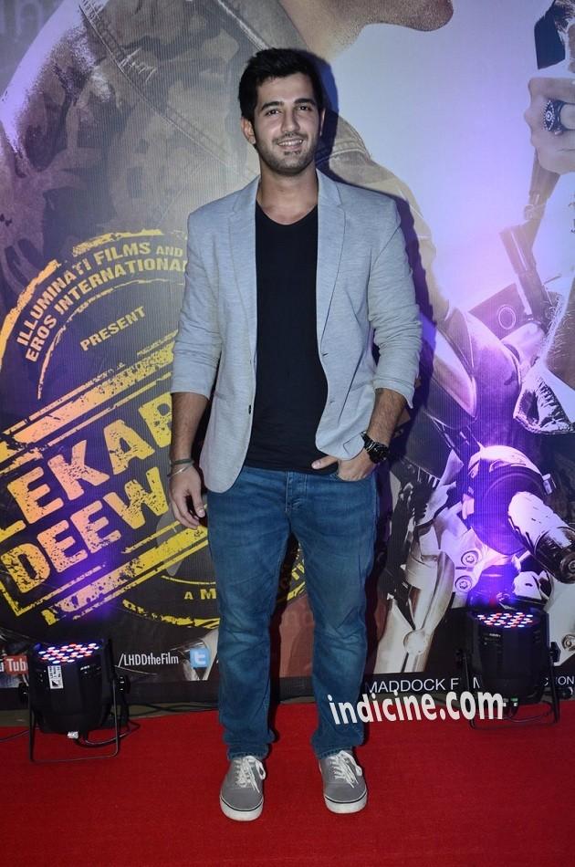 Aditya Seal at Lekar Hum Deewana Dil premiere