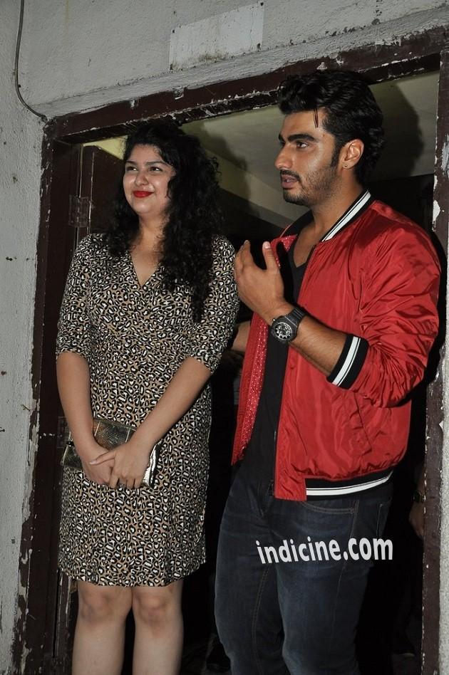 Arjun Kapoor with sister Anshula Kapoor