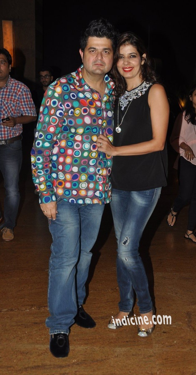 Dabboo Ratnani with wife Manisha Ratnani