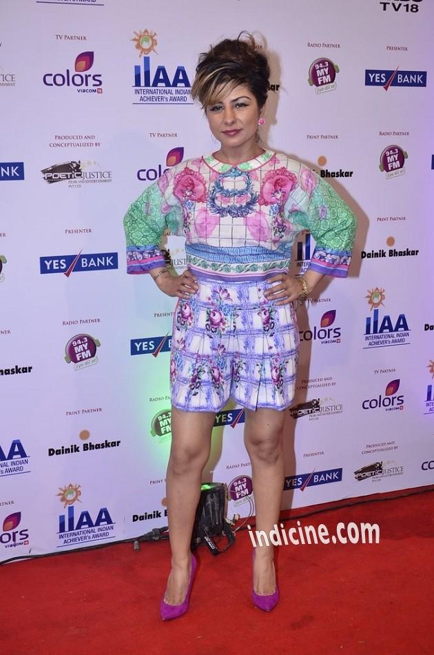 Hard Kaur at International Indian Achievers Awards