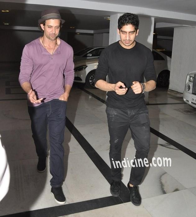 Hrithik Roshan with Ayan Mukerji