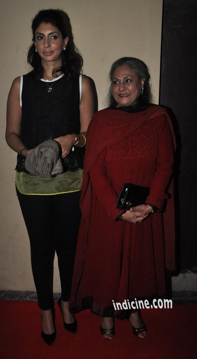 Jaya Bachchan with daughter Shweta Bachchan Nanda
