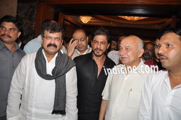 Jitendra Awhad, Shahrukh Khan and Sushil Kumar Shinde