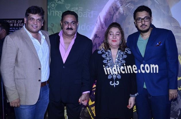 Manoj Jain, Reema Kapoor and Dinesh Vijan