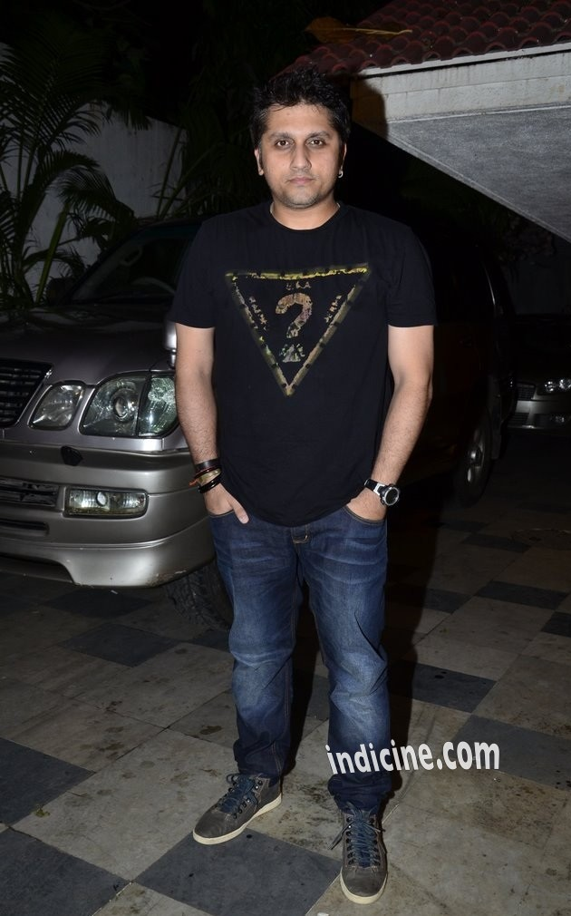 Mohit Suri at Ek Villain success bash