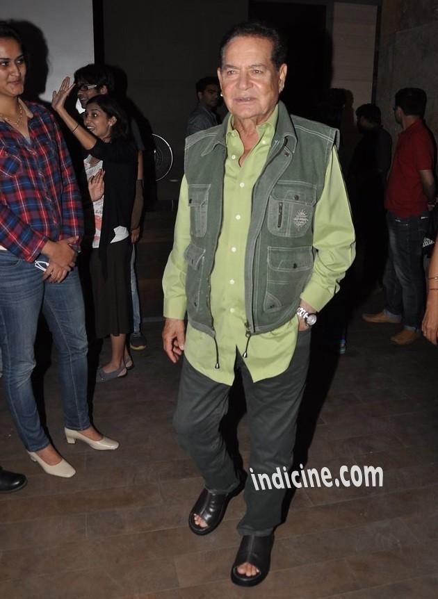 Salim Khan at Kick screening at Lightbox