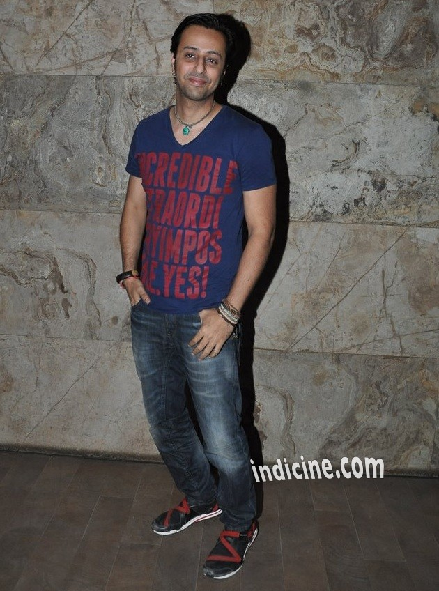 Salim Merchant at Bobby Jasoos special screening