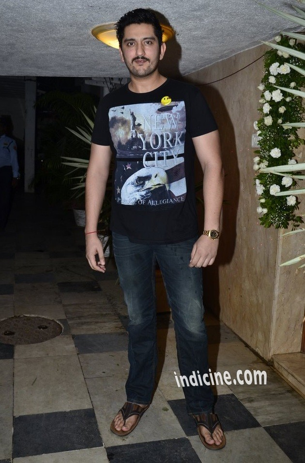 Shaad Randhawa at Ek Villain success bash