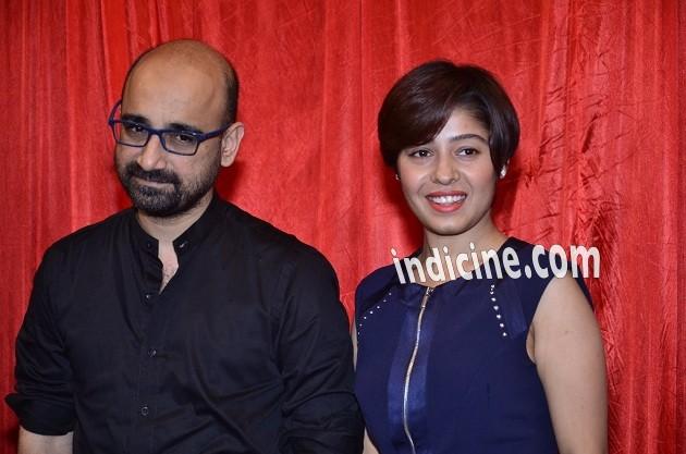 Sunidhi Chauhan with husband Hitesh Sonik