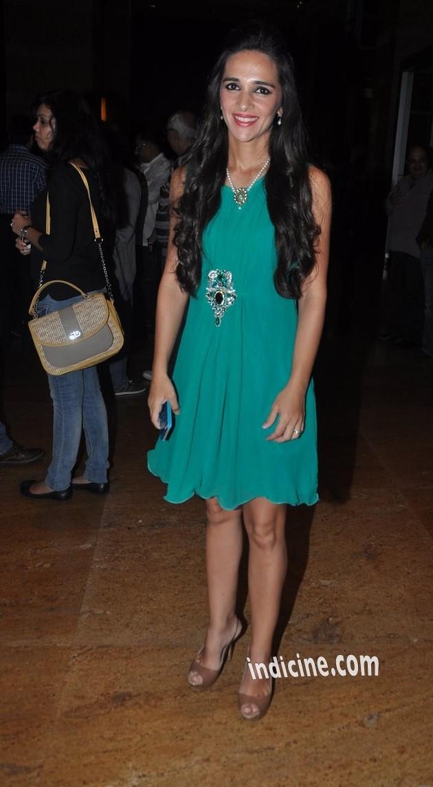 Tara Sharma at IIJW 2014