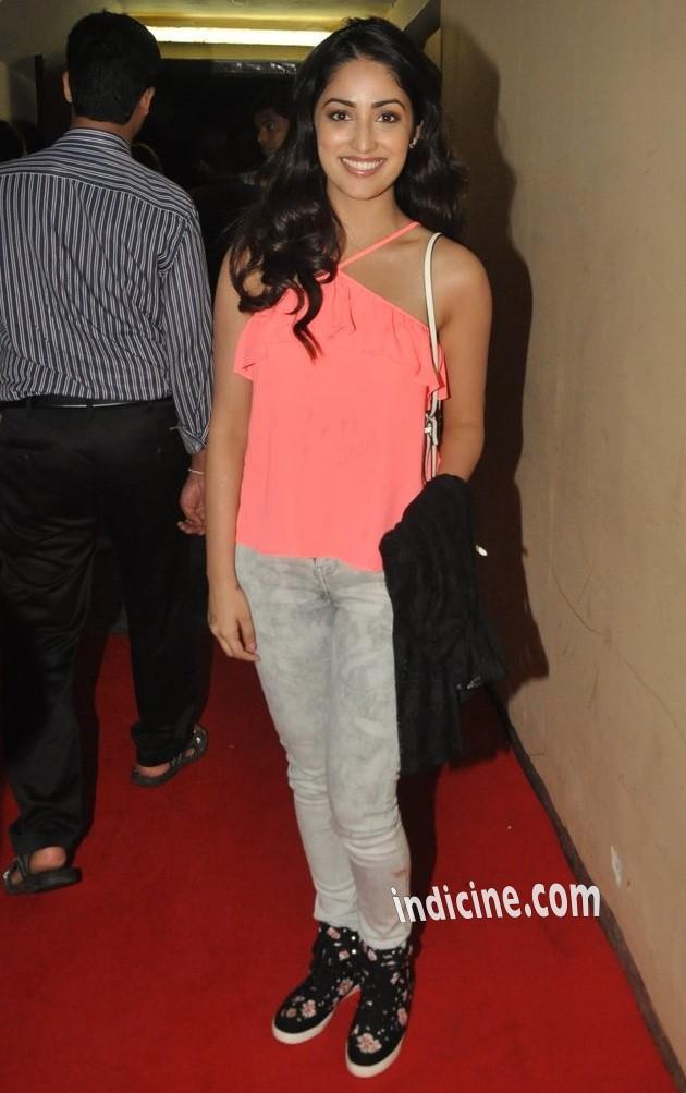 Yami Gautam at Lekar Hum Deewana Dil premiere