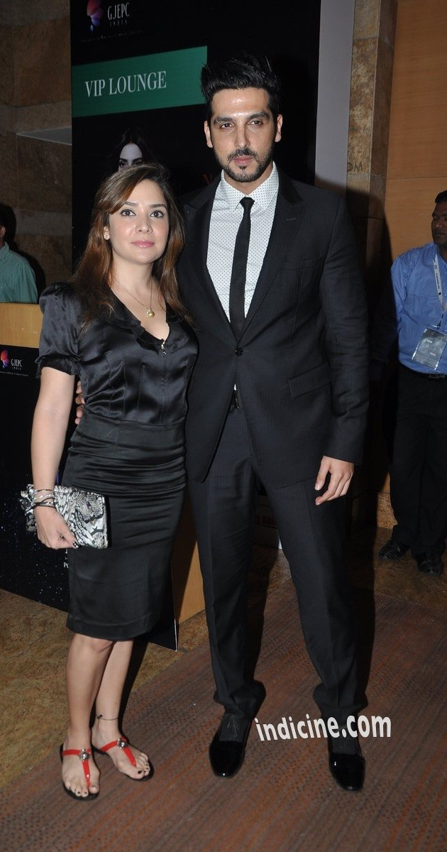 Zayed Khan with wife Malaika Parekh