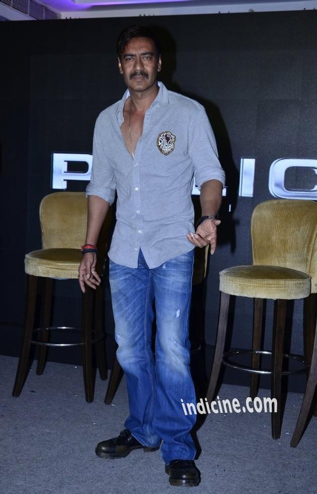 Ajay Devgan promotes Singham Returns