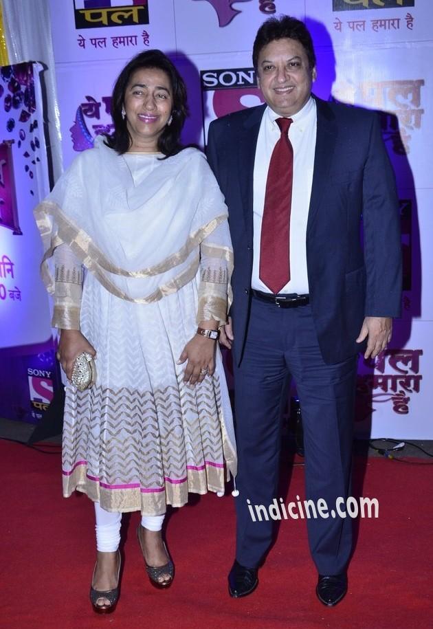 Anu Ranjan with husband Shashi Ranjan
