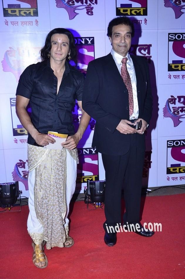 Dheeraj Kumar at Sony Pal channel red carpet