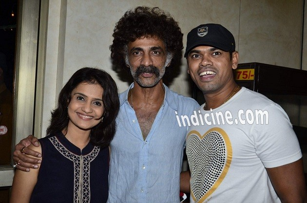 Makrand Deshpande, Siddharth Jadhav at Saturday Sunday special screening
