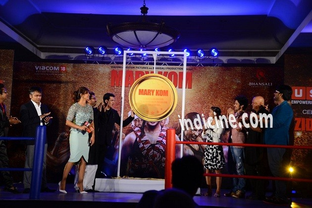 Mary Kom audio release