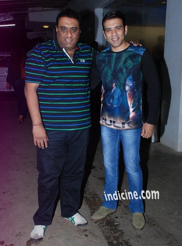 Sajid, Farhad at Entertainment special screening at Sunny Super Sound