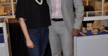 Samir Soni with wife Neelam Kothari