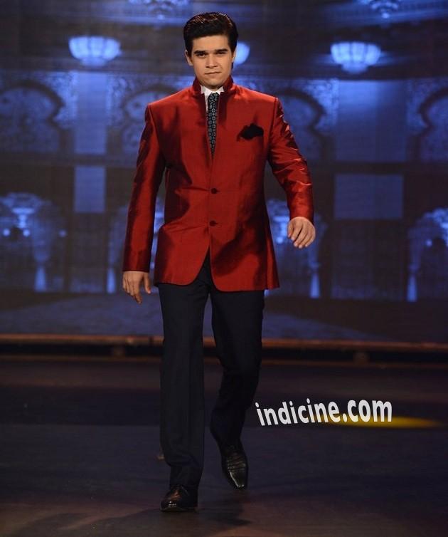 Vivaan Shah walks for Manish Malhotra