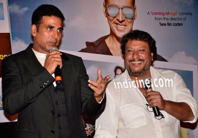 Akshay Kumar with Tigmanshu Dhulia