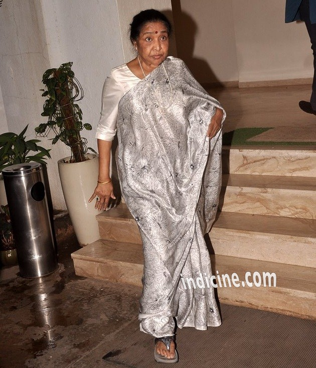 Asha Bhosle at Haider special screening