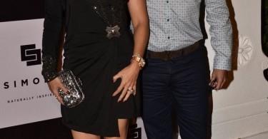 Krishika Lulla with husband Sunil Lulla