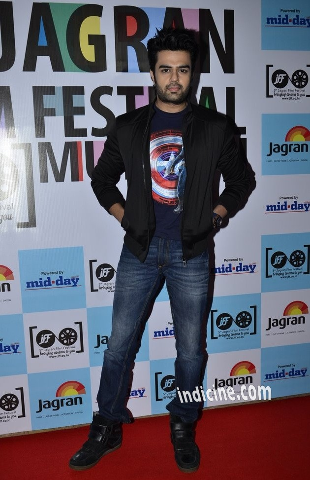 Manish Paul at 5th Jagran Film Festival launch