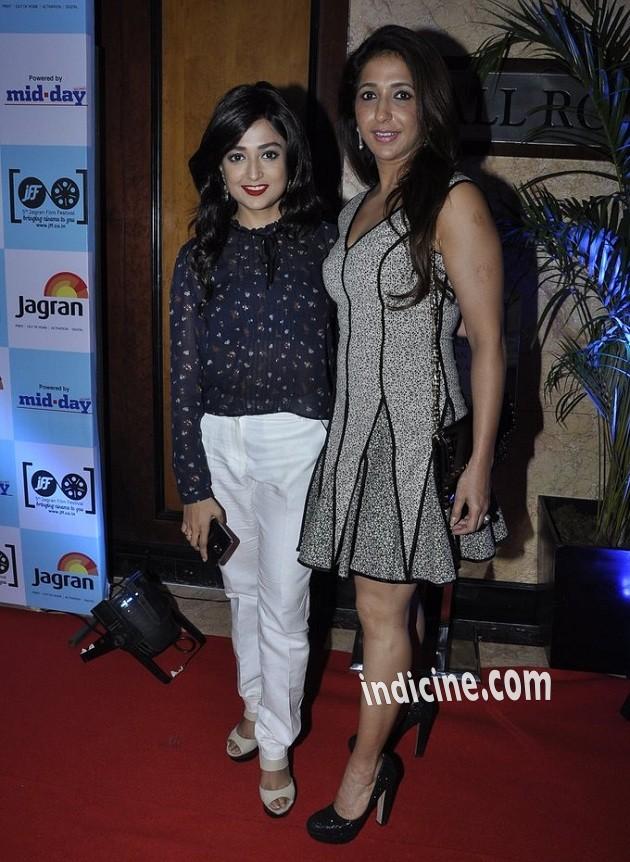 Monali Thakur with Krishika Lulla