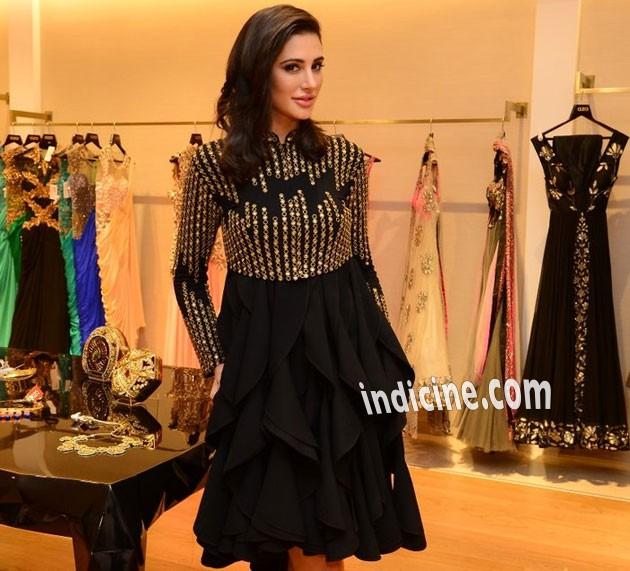 Nargis at Aza store launch in Bandra