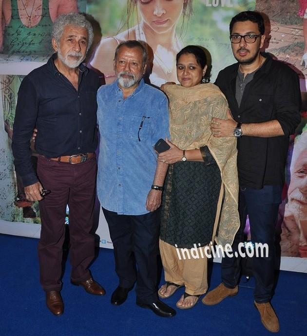 Naseeruddin Shah, Pankaj Kapoor, Supriya Pathak and Dinesh Vijan