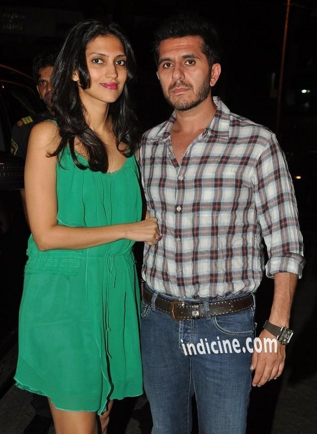 Ritesh Sidhwani with wife Dolly Sidhwani