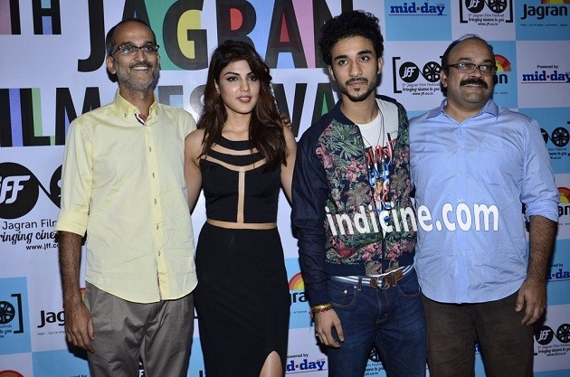 Rohan Sippy, Rhea Chakraborty and Raghav Juyal