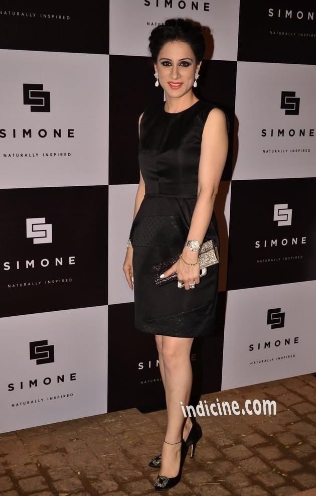 Rouble Nagi at Simone Arora's store launch