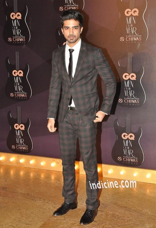 Saqib Saleem at GQ Men of the year awards