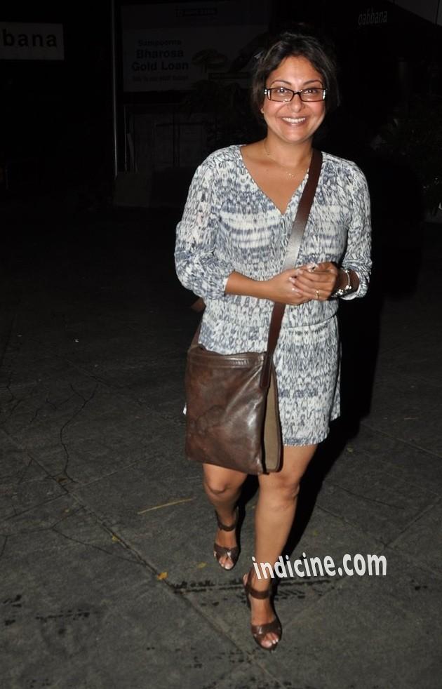 Shefali Shah at Dil Dhadakne Do wrap up party