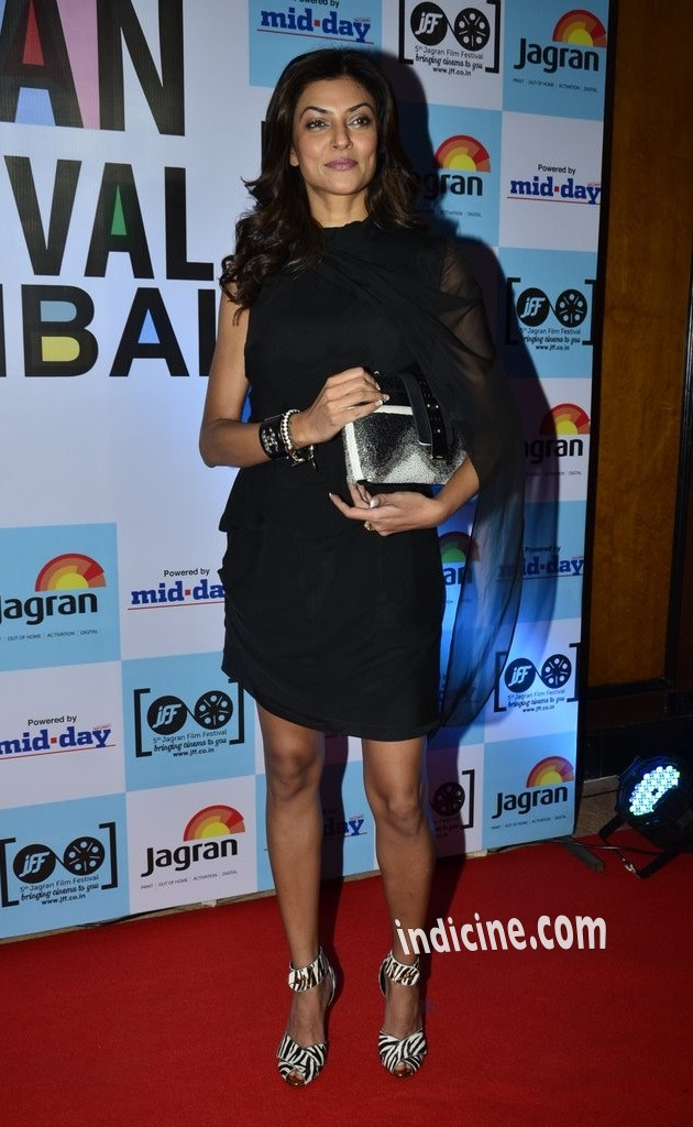 Sushmita Sen at the launch of 5th Jagran Film Festival Mumbai