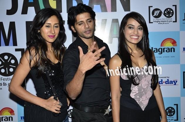 Teejay Sidhu, Karanvir Bohra and Surbhi Jyoti